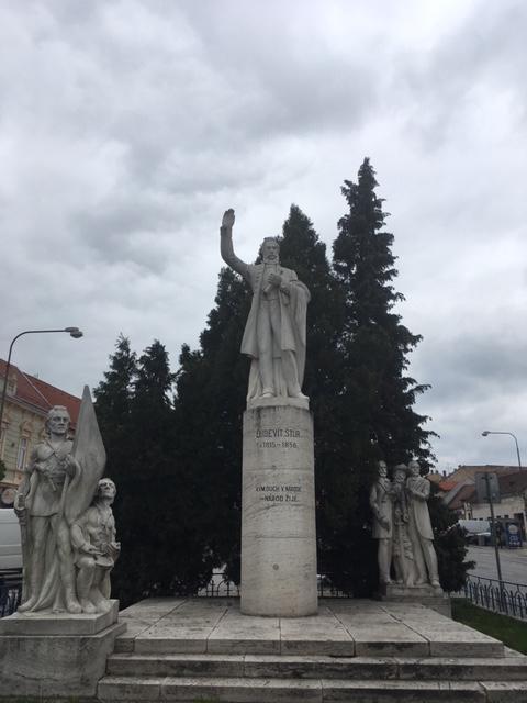 Návšteva Ľudovíta Štúra a jeho socha