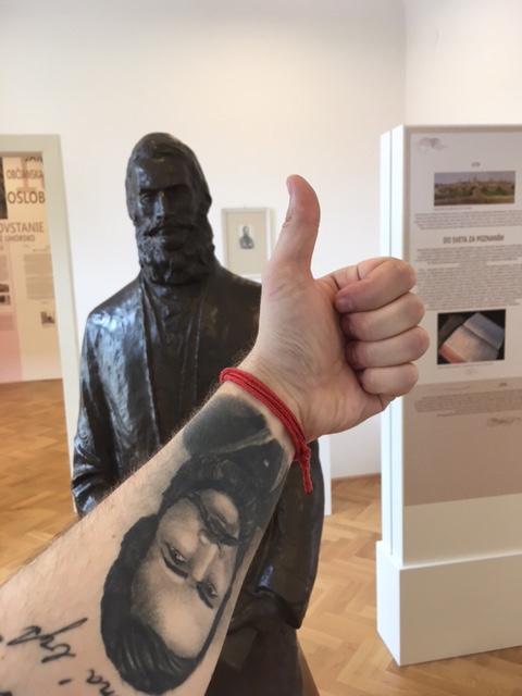 Návšteva Ľudovíta Štúra Jeho podobizeň - Múzeum