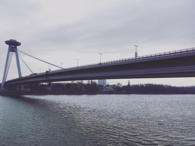 Návrat na Slovensko - Nový most v Bratislave