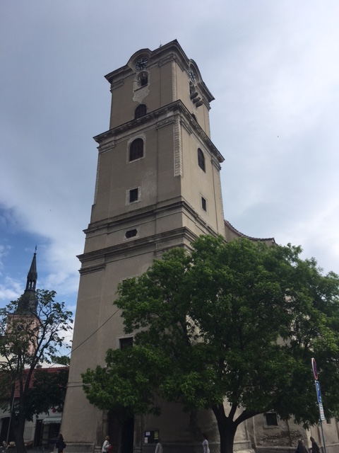 Výlet do Pezinku a kostol