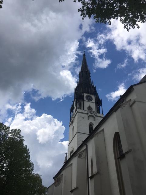 Rímskokatolícky farský kostol Nanebovzatia Panny Márie v Spišskej Novej Vsi.