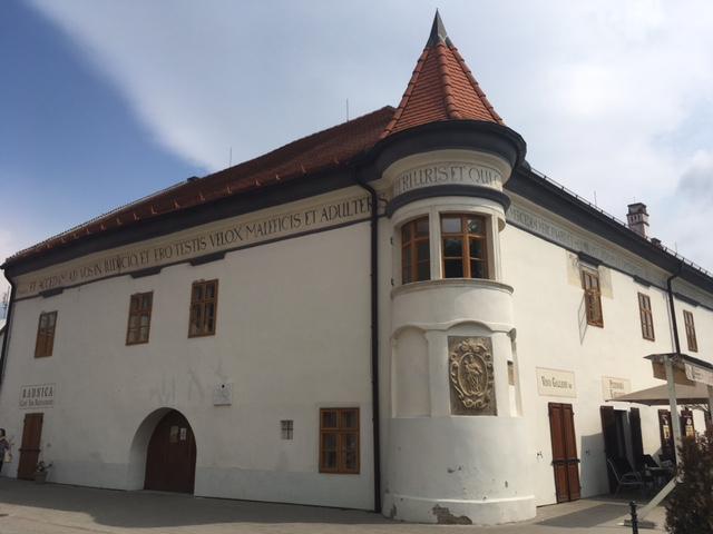 Výlet do Pezinku - Radnica