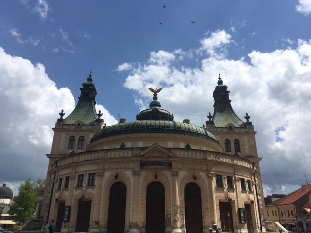 Budova Reduty - Spisšké divadlo v Spišskej Novej Vsi