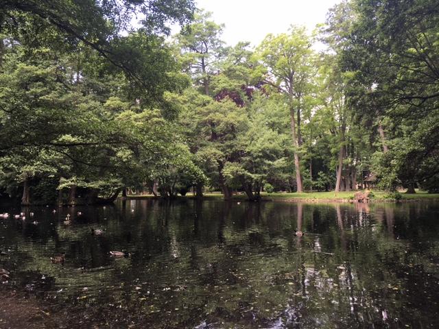 Výlet do Pezinku - Zámocký park.