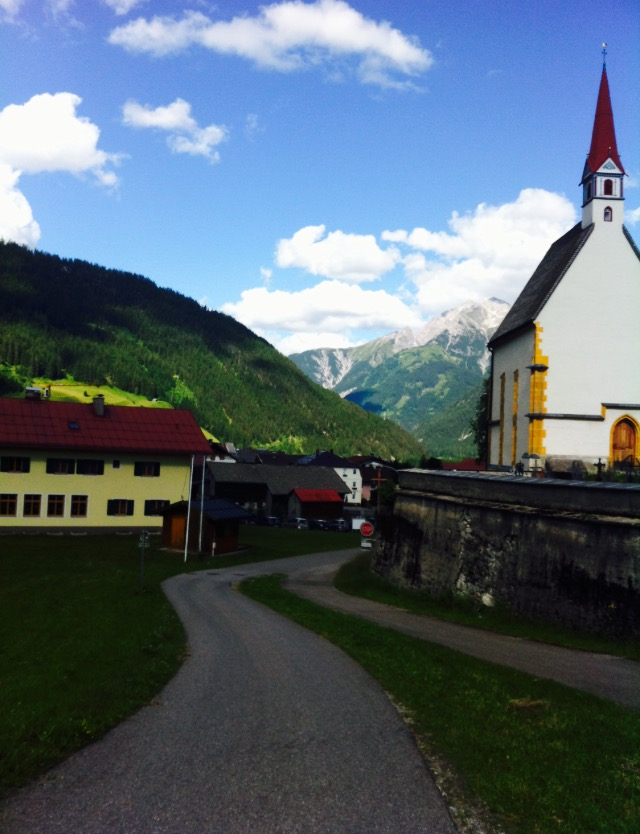 Práca v Alpách.