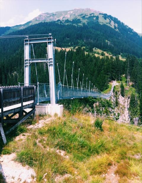 Práca v Alpách