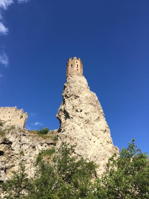 Výlet na hrad Devín - veža Mníška