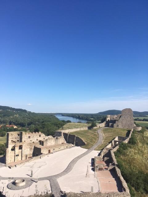 Výlet na hrad Devín v Bratislave