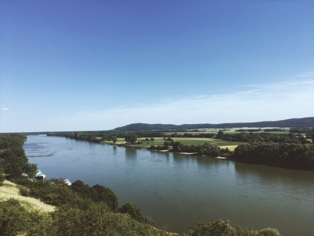 Výlet na hrad Devín rieka