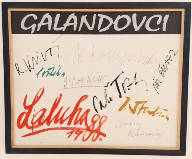 Galéria Nedbalka v Bratislave - Galandovci
