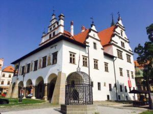 Jedinečné námestia na Slovensku