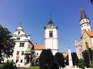 Jedinečné námestia na Slovensku - Levoča