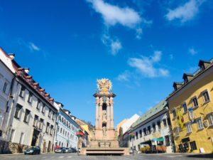 Jedinečné námestia na Slovensku - Banská Štiavnica