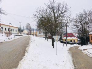 Kostol Katarínka - smer z Naháča