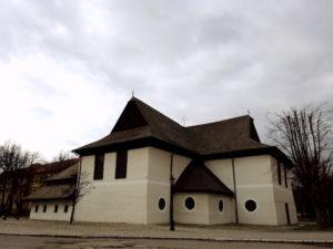 Čo vidieť vKežmarku - Drevený kostol