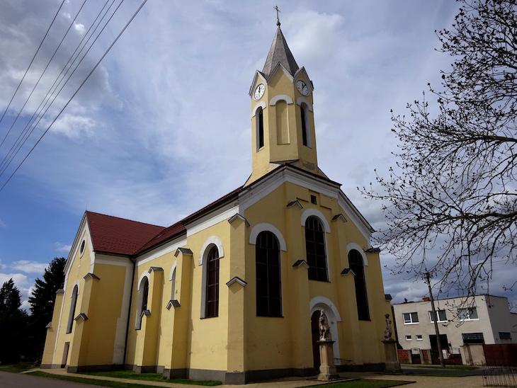Kostol v Kopčanoch - druhý kostol