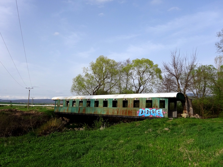 Slovenské unikáty - most z vagóna