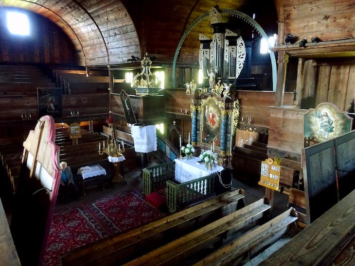 Slovenské unikáty - drevený kostol v Hronseku