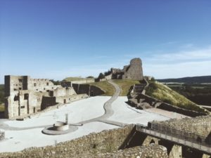 Zrúcaniny hradov - Devín
