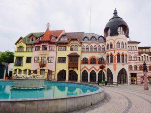 Jedinečné námestia na Slovensku - Komárno