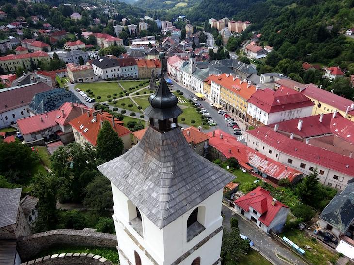 Čo vidieť v Kremnici - výhľad