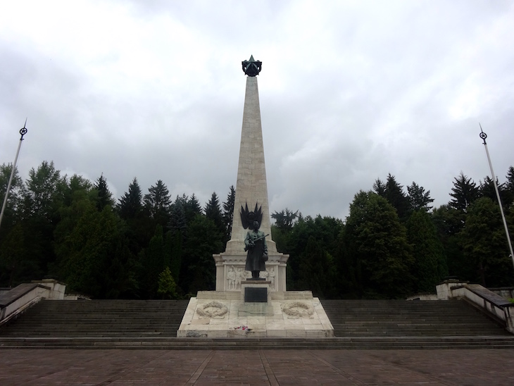 Areál Duklianskeho bojiska - Svidník
