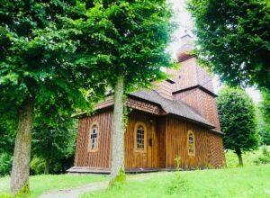 Drevené kostoly - Vyšný Komárnik