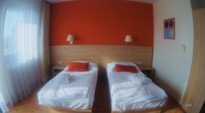 Wellness hotel Patince - izba