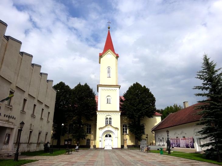 Čo vidieť v Liptovskom Mikuláši - evanjelický kostol