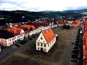 Jedinečné námestia na Slovensku - Bardejov