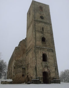 Kostolíky na Slovensku - Zrúcaniny Kostola a kláštora sv. Kataríny Alexandrijskej pri Dechticiach