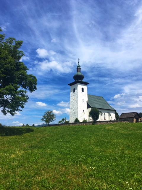 Kostolíky na Slovensku - Kostol svätého Jána Krstiteľa v Kremnických Baniach