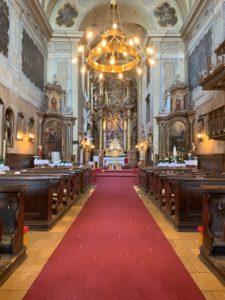 Unikáty na Záhorí - kostol v Malackách