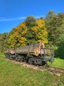 Región GRON - lesná železnička