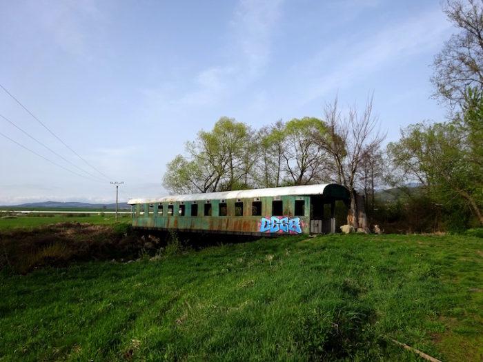 Most z vagóna vo Vígľaši