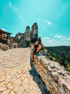 nenáročné výlety - Čachtický hrad